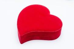 Heart shaped box Stock Image