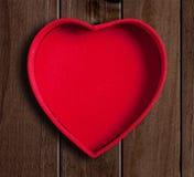 Heart shaped box. Royalty Free Stock Photo