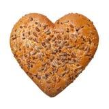 Heart shaped bun Stock Photo