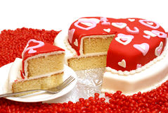 Heart Shaped Cake Royalty Free Stock Photo