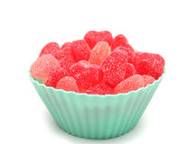 Heart shaped  candies Stock Photo