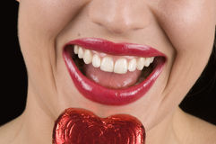 Heart Shaped Candy Royalty Free Stock Photography