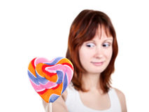 Heart Shaped Candy Stock Photos