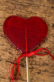 Heart shaped candy Royalty Free Stock Photos