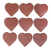 Heart shaped chocolate Royalty Free Stock Photography