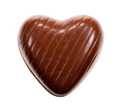 Heart shaped chocolate Royalty Free Stock Photos