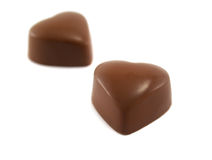Heart Shaped Chocolates Stock Images
