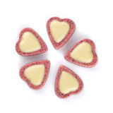 Heart shaped chocolates Stock Image