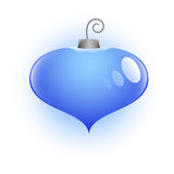 Heart Shaped Christmas Bauble Vector Illustration Royalty Free Stock Photo