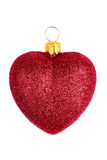 Heart shaped christmas toy Royalty Free Stock Photos