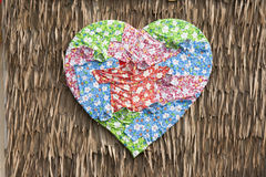 Heart-shaped Cloth Royalty Free Stock Images