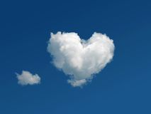 Free Heart Shaped Cloud In The Sky Royalty Free Stock Photo - 14291655