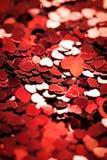 Heart Shaped Confetti Royalty Free Stock Photo