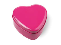 Heart Shaped Container Royalty Free Stock Images
