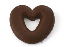 Free Heart-shaped Cookie Royalty Free Stock Photography - 2839947