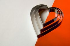 Free Heart Shaped Cookie Cutters Royalty Free Stock Photos - 116338368