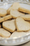 Heart-shaped cookies Stock Photography