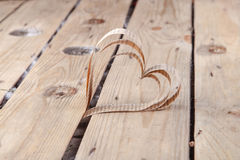 Heart-shaped cutout St Valentines hearts Royalty Free Stock Image