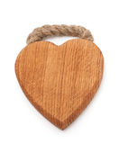 Heart shaped cutting board Stock Photos