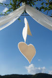 Heart Shaped decoration royalty free stock image