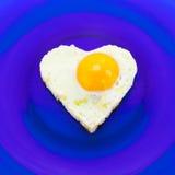 Heart shaped egg Stock Photos