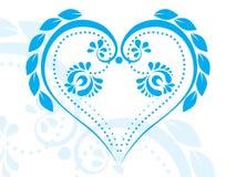 Heart shaped figure tattoo Stock Image