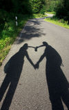 Heart Shaped Figures Royalty Free Stock Images