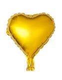 heart-shaped foil balloon Royalty Free Stock Photo