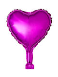 heart-shaped foil balloon Stock Photography