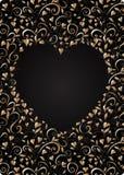 Heart-shaped frame Stock Photos