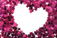 Heart shaped frame royalty free stock photography