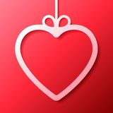 Heart Shaped Frame Royalty Free Stock Images