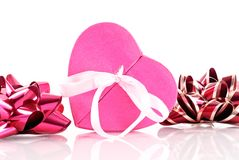 Heart Shaped Gift Box Royalty Free Stock Photo