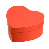 Heart shaped gift box. Stock Photography