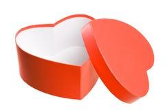 Heart shaped gift box. Stock Photo
