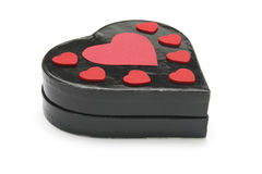 Heart-shaped Gift Box Stock Image