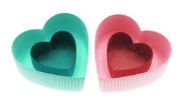 Heart-shaped Gift Boxes Royalty Free Stock Photo