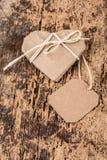 Heart shaped gift Stock Photos