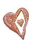 Heart shaped gingerbread Royalty Free Stock Images