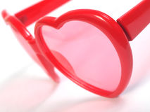 Heart Shaped Glasses Royalty Free Stock Photo