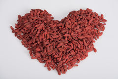Free Heart Shaped Goji Royalty Free Stock Image - 19986306