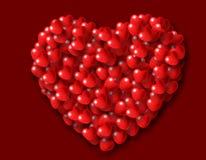 Heart shaped Hearts Stock Photo