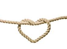 Heart Shaped Knot stock photography