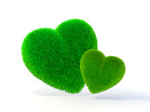 Heart-shaped Lawn Royalty Free Stock Image