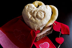 Heart shaped loaf Royalty Free Stock Photos