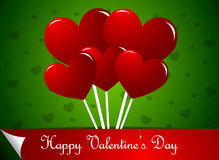 Heart shaped lollipops Stock Image