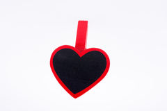 Heart shaped magnet Royalty Free Stock Photography