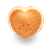Heart shaped muffin Stock Photography