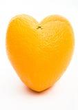Heart Shaped Orange Stock Images