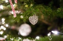 Heart Shaped Ornament royalty free stock photos